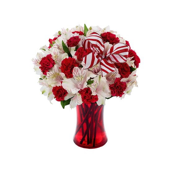 Peppermint flower bouquet (BF368-11K)